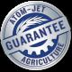 Atom-Jet Guarantee Logo