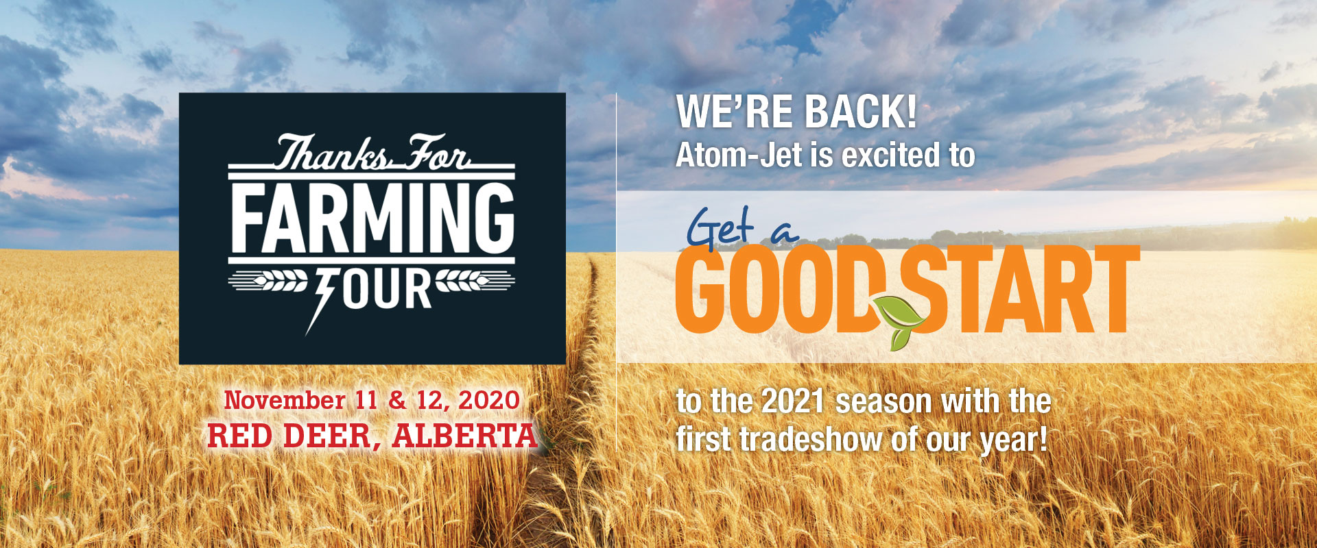 We're Back! Atom-Jet is excited to Get a Good Start to the 2021 season with the first trade show of our year!