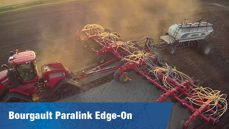 Bourgault Paralink Edge On Seeding Opener Series