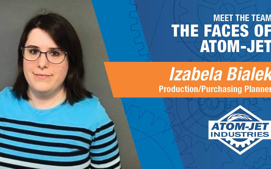 Meet the Team: Izabela Bialek