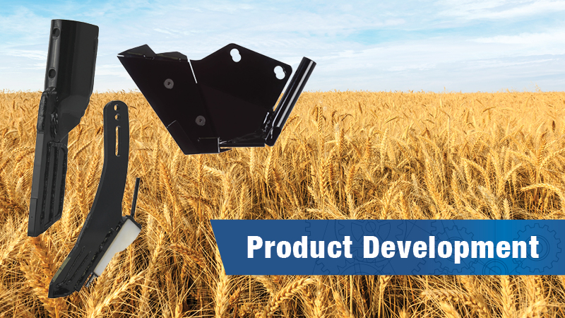 Wheat field with latest three Atom-Jet products superimposed.
