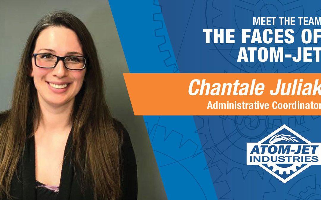 Meet the Team: Chantale Juliak