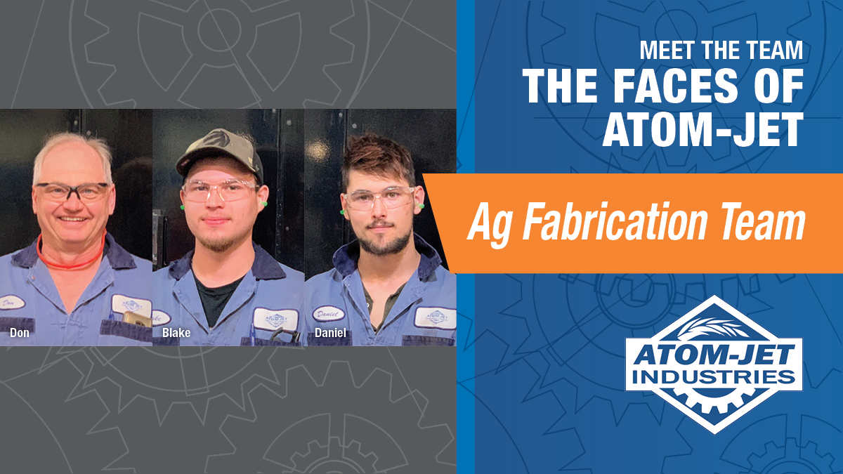 The Ag Fabrication Team at Atom-Jet Industries