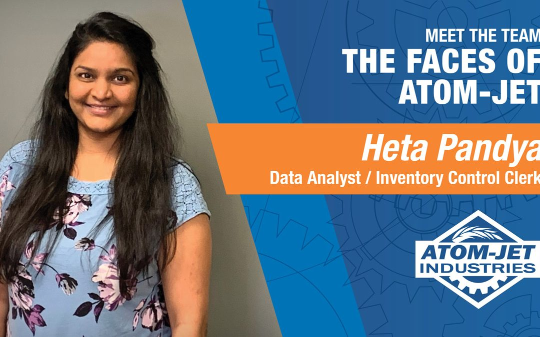 Meet the Team: Heta Pandya