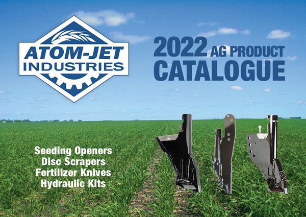 Atom-Jet Ag Product Catalogue 2022 cover page