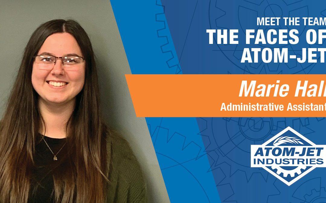 Meet the Team: Marie Hall